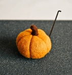 felted pumpkin